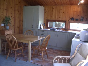 Birch Chalet kitchen